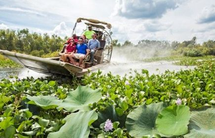 Airboat Tours By Arthur Matherne | LA Cajun Bayou